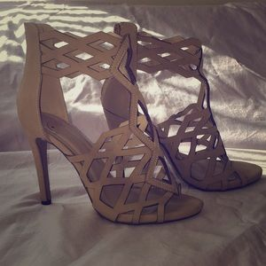 "Shoes - Heels 4"" nude"